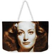 Joan Crawford, Hollywood Legends Weekender Tote Bag