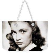 Joan Leslie, Vintage Actress Weekender Tote Bag
