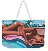 Poolside Dreaming Weekender Tote Bag