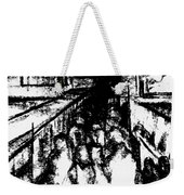 Frankenberg Material. 15 March, 2015 Weekender Tote Bag