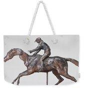 Jockey With Cap Weekender Tote Bag