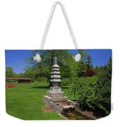 Joe And Marie Schedel Pagoda-horizontal Weekender Tote Bag