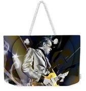 Joe Bonamassa Blue Guitarist Art Weekender Tote Bag