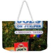 Joe's On Juniper Weekender Tote Bag