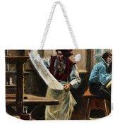 Johann Gutenberg Weekender Tote Bag