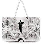 Johann Strauss  Weekender Tote Bag