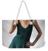 Johanne In Green Weekender Tote Bag