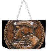 Johannes Pistorius (1504-1583) [obverse] Weekender Tote Bag