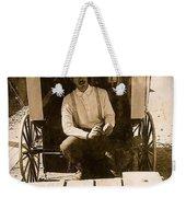 John A. Coffer  Traveling Tintype Photographer  Tombstone Arizona 1980-2009 Weekender Tote Bag