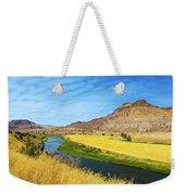 John Day River Panoramic View Weekender Tote Bag