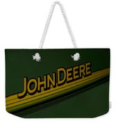 John Deere Signage Decal Weekender Tote Bag