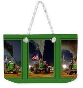 John Deere Tractor Pull Poster Weekender Tote Bag