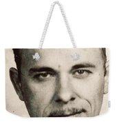 John Dillinger Mug Shot Sepia Weekender Tote Bag