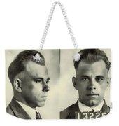 John Dillinger Mugshot Weekender Tote Bag