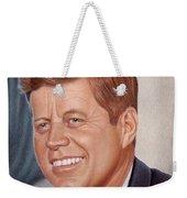 John F. Kennedy Weekender Tote Bag