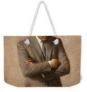 John F Kennedy Weekender Tote Bag by War Is Hell Store