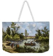 John Fitch Steamboat, 1796 Weekender Tote Bag