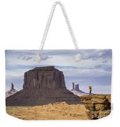 John Ford Point Photographer Weekender Tote Bag