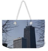John Hancock Center Weekender Tote Bag
