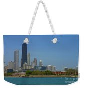 John Hancock Center Chicago Weekender Tote Bag