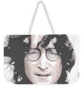 John Lennon - Parallel Hatching Weekender Tote Bag