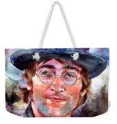 John Lennon Portrait Weekender Tote Bag