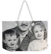 John Megan And Joey Weekender Tote Bag