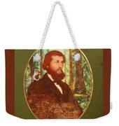 John Muir With A Chipmunk On His Shoulder Weekender Tote Bag