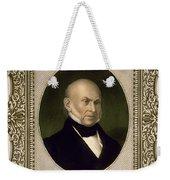 John Quincy Adams, 6th U.s. President Weekender Tote Bag