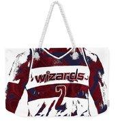 John Wall Washington Wizards Pixel Art 5 Weekender Tote Bag