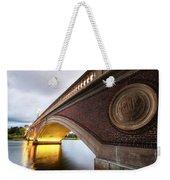 John Weeks Bridge Charles River Harvard Square Cambridge Ma Weekender Tote Bag