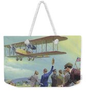 John William Alcock And Arthur Whitten Brown Who Flew Across The Atlantic Weekender Tote Bag