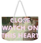 Johnny Cash Art Print Weekender Tote Bag