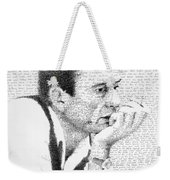 Johnny Cash God's Gonna Cut You Down Weekender Tote Bag