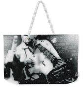 Johnny Cash Rebel Vertical Weekender Tote Bag