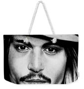 Johnny Depp  Weekender Tote Bag
