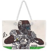 Johnny Manziel 12 Weekender Tote Bag