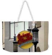 Johnny Rocket Signage Weekender Tote Bag