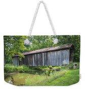Johnson's Mill/salt Creek Covered Bridge  Weekender Tote Bag