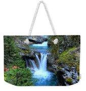 Johnston Canyon Falls Hike Lower Falls Weekender Tote Bag