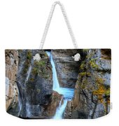 Johnston Canyon Falls Hike Upper Falls II Weekender Tote Bag