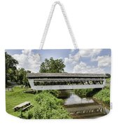 Johnston Covered Bridge Weekender Tote Bag