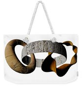 Join Circles Weekender Tote Bag