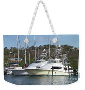 Join Me For A Ride Weekender Tote Bag