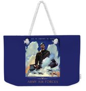 Join The Army Air Forces Weekender Tote Bag