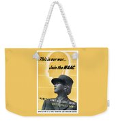 Join The Waac - Women's Army Auxiliary Corps Weekender Tote Bag