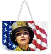 Join The Wac Now - World War Two Weekender Tote Bag