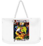 Join The Women's Land Army Weekender Tote Bag