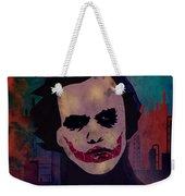 Joker Heath Ledger The Dark Knight Weekender Tote Bag