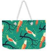 Jolly Bird Pattern Weekender Tote Bag